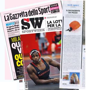 Kingii Wearable su Sport Week della Gazzetta dello Sport